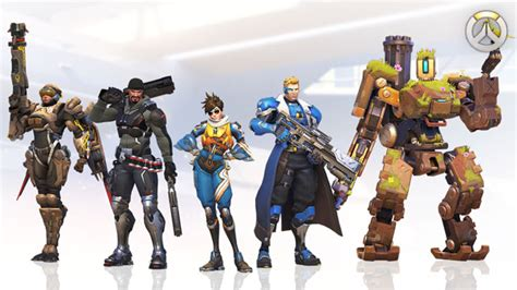 New Ow Overwatch Tracer Pharah Soldier 76 Figure Gift overwatch blizzard shop
