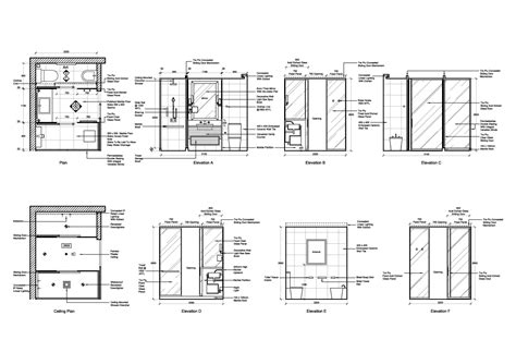 bathroom elevation drawings elevation bathrooms sheraton interiors quotes