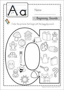 beginning sounds coloring and cases on pinterest