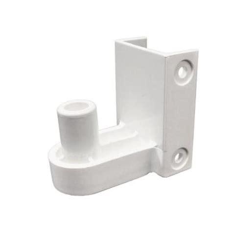 snapfence white modular vinyl fence hinge bracket 12 box