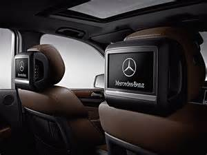 Mercedes Rear Seat Entertainment System Mercedes 2012 To 2015 M Class W166 Oem Rear Seat Dvd