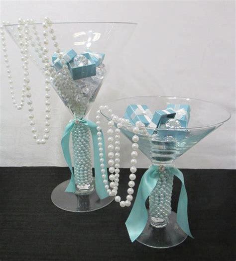 martini glass centerpiece ideas 2 large martini glasses bridal shower centerpiece card