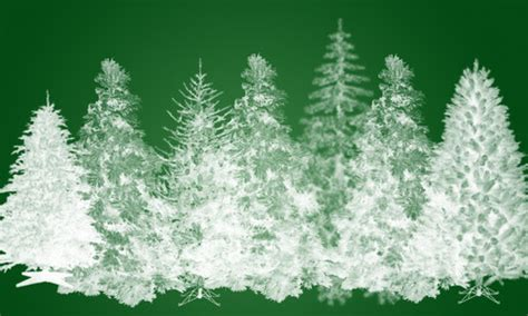tree pattern brush the ultimate christmas round up patterns brushes