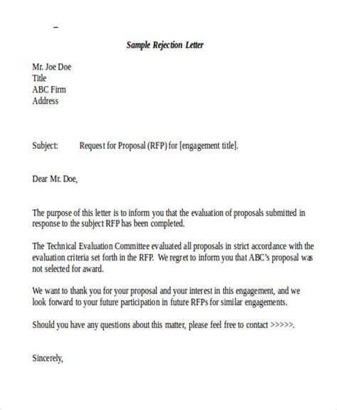 sample formal proposal letter templates