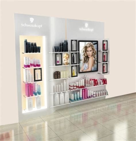 how to display salon products planet salon