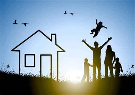 happy family and house at sunset in a meadow psu chronicles