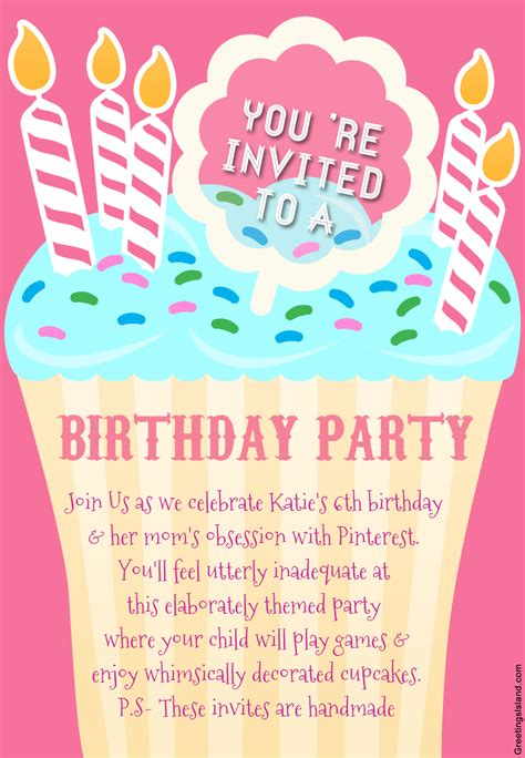 printable invitations birthday honest birthday party invitations