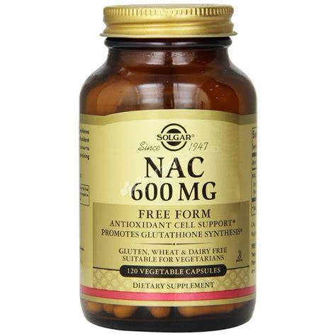 k supplement 600 mg solgar nac 600mg