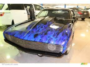 1969 black blue flames chevrolet camaro coupe 54913471