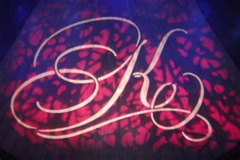 monogram lighting custom wedding monogram lighting