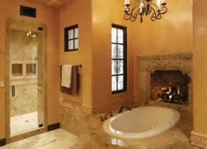 Fireplaces In Bathrooms Source