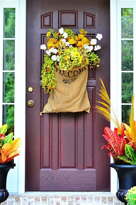 Apartment Front Door Decorating Ideas Staging Your Home For Fall Creating Curb Appeal