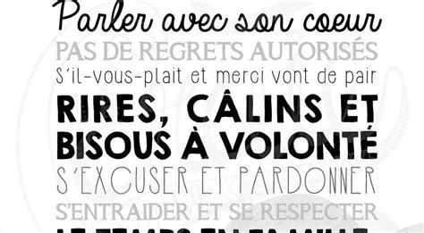 Affiche Les Regles De La Maison 2923 by Affiche Les Regles De La Maison