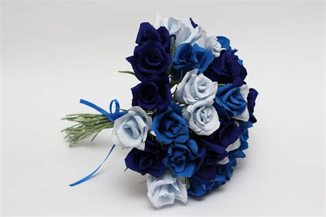 Blue Flower Wedding Bouquet by Gorgeous Blue Roses Wedding Bouquets To Inspire You Ipunya