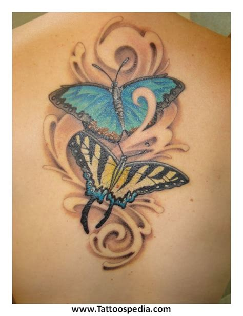 butterfly tattoo with children s names butterfly tattoo designs with kids names 3