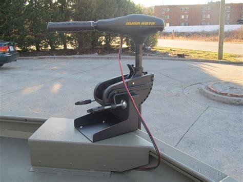 bow boat mount trolling motor bow mount bracket for transom motors