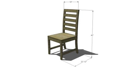build dining room chairs free diy furniture plans to build a francine dining chair