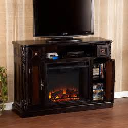 sei adylane media console electric fireplace
