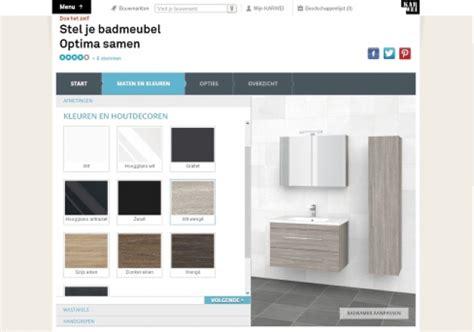 bruynzeel badkamer kleuren badkamermeubel configurator bruynzeel emerce eguide