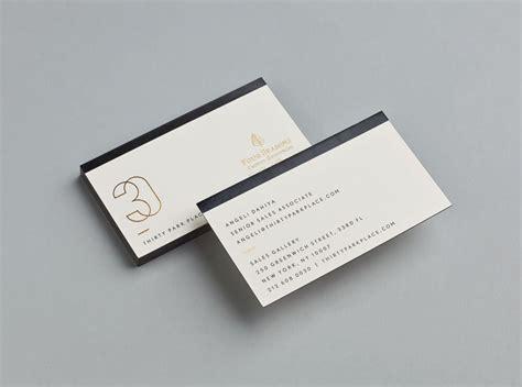 Formal Business Card Design