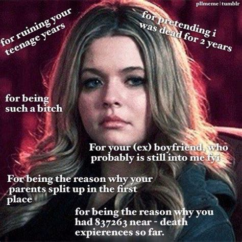 Pll Meme - 317 best images about pretty little liars on pinterest