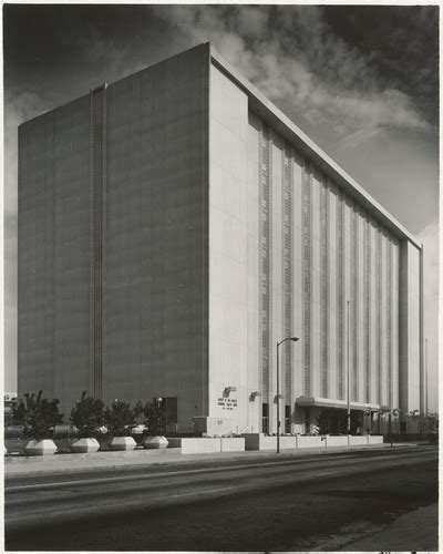 Los Angeles Municipal Court Search Calisphere Exterior Front Corner View County Of Los Angeles Municipal Traffic