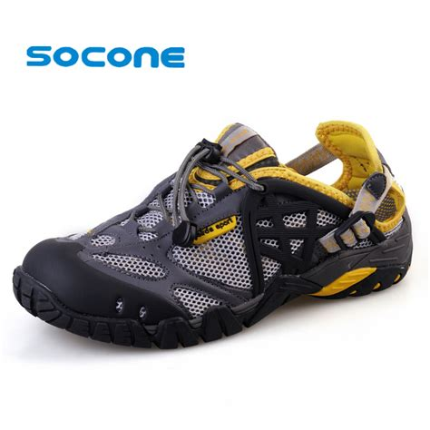 water sandals mens socone mens aqua water shoes sandals new 2016 summer