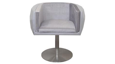 siege moderne fauteuil design diamonds en fibre de verre et velours