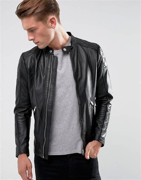 diesel l diesel diesel l marton leather biker jacket