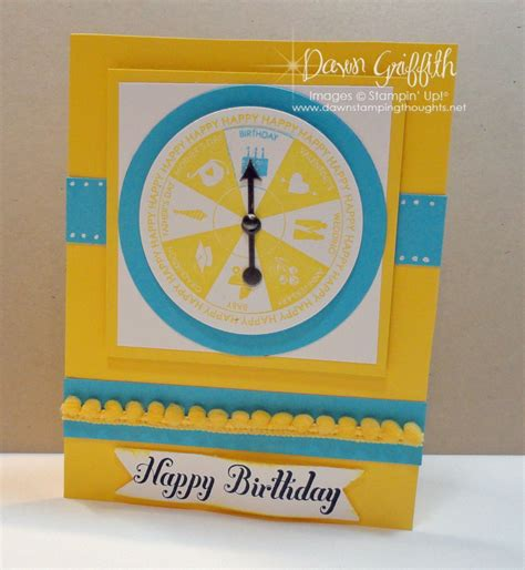 birthday spinner happy birthday spinner card s sting thoughts