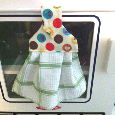 kitchen towel craft ideas hanging dish towel crafts