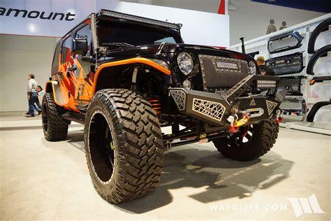 Sema Jeep Wrangler 2016 Sema Paramount Jeep Jk Wrangler