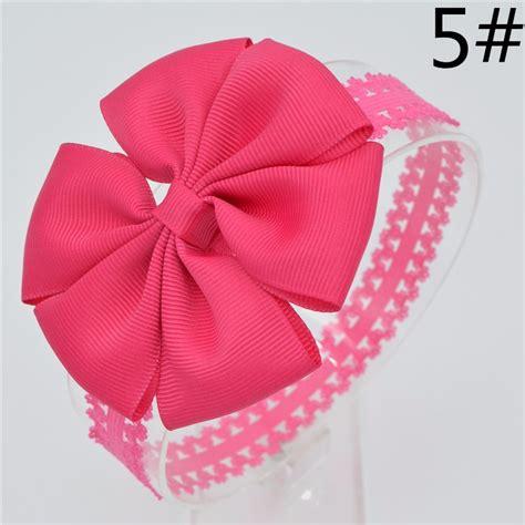 Handmade Baby Hair Bands - 21 color baby hair bows handmade flower lace headband