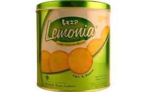 Nissin Lemonia Cookies lemonia cookies