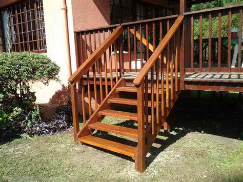 Outdoor Wood Stairs Wooden Front Step Plans Studio Design Gallery Best