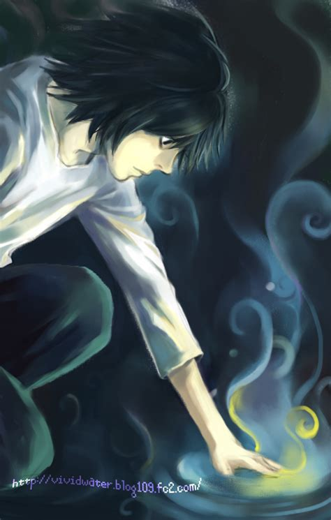 and l death note yaoi l x light kiss death note yaoi