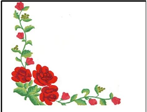 desain bunga sudut pola sulam tiaalexandra