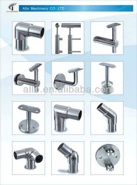 Handrail Parts Ss Stainless Steel Adjustable Handrail Bracket Railing