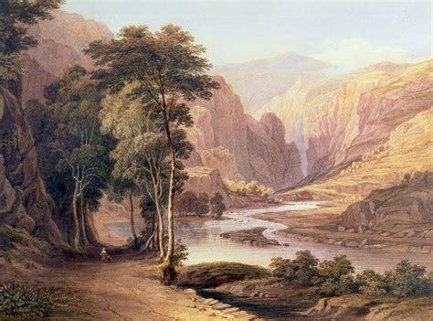 Home Plans Utah Tasmanian Gorge Painting By John Glover