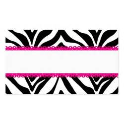 zebra print business cards zebra print custom place cards sided standard business cards pack of 100 zazzle