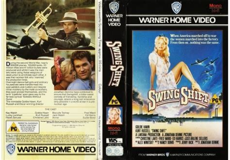 swing shift dvd swing shift 1984 on warner home video united kingdom