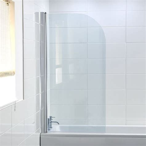 Curved Bath Shower Screen by Shower Screen Hydrolux Curved Shower Screen