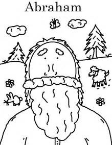 God Calls Abram  Mission Bible Class sketch template