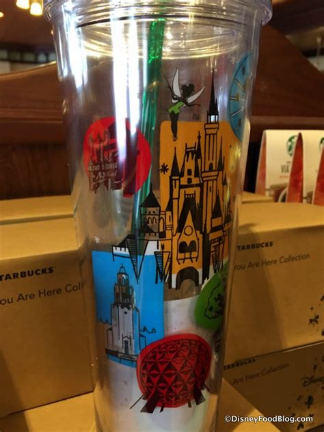 Disney Startbucks Ceramic Tumbler - spotted new disney parks starbucks tumblers and new magic