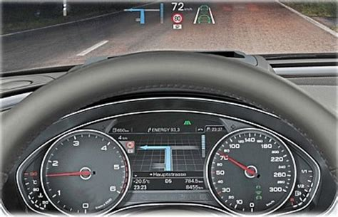 Audi A6 Display by Audi A6 4g Head Up Display Head Up Display Carmotec De
