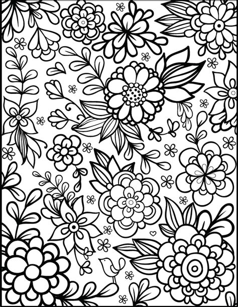 florals a coloring book for adults coloring collection books moving along filthy muggle