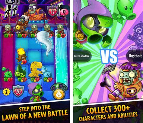 Plant Vs Family Set 2 ea announces plants vs zombies heroes a collectible card