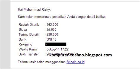 bitcoin co id cara withdraw balance btc ke bank indonesia komputer techno