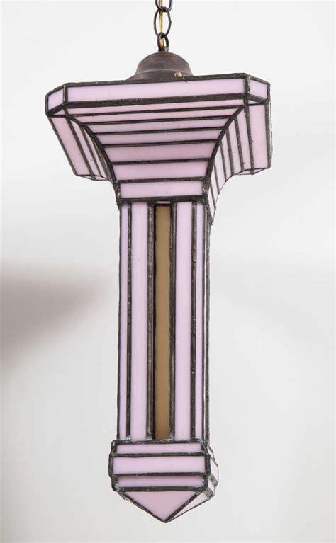 Three Pendant Light Fixture Set Of Three Leaded Glass Pendant Light Fixture By Adam Kurtzman For Sale At 1stdibs