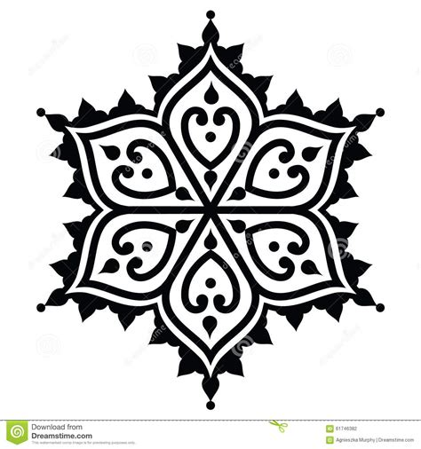 henna tattoo star mehndi indian henna design shape stock
